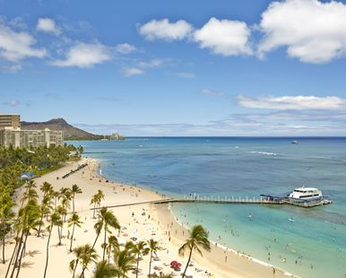 Hilton Vacations-Hawaiian Village Waikiki Beach Resort
